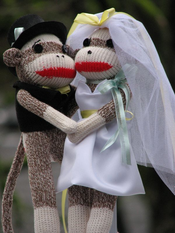 more Wedding Monkeys